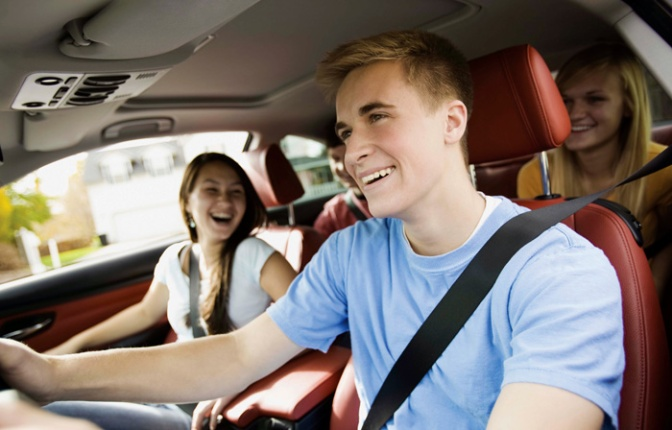 Teen Drivers With Rowdy Friends Have Higher Chance Of Accident